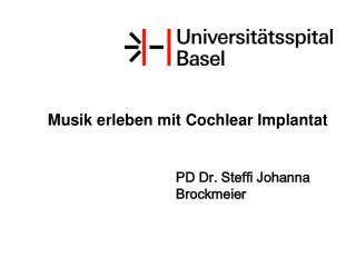 Musik erleben mit Cochlear Implantat