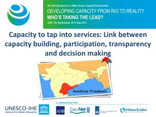 In search of Transparency, Accountability & Participation in WASH