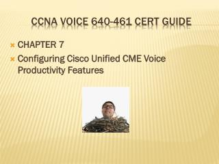 CCNA Voice 640-461 Cert Guide