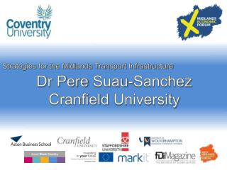 Dr Pere  Suau -Sanchez Cranfield  University