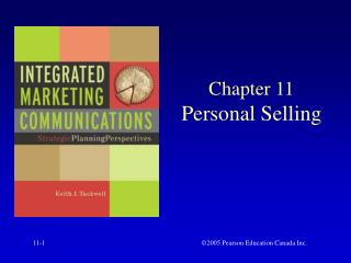 Chapter 11 Personal Selling