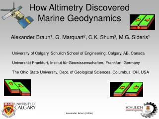 How Altimetry Discovered  Marine Geodynamics