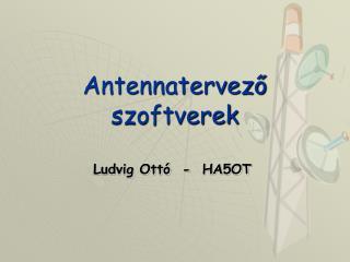 Antennatervező szoftverek