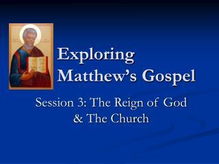 Exploring  Matthew s Gospel