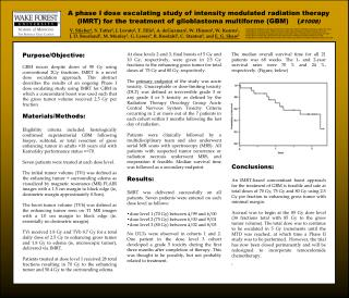 A phase I dose escalating study of intensity modulated radiation therapy