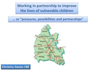 Working in partnership to improve the lives of vulnerable children