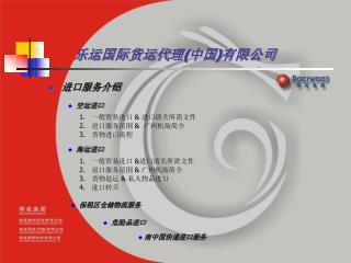 乐运国际货运代理(中国)有限公司