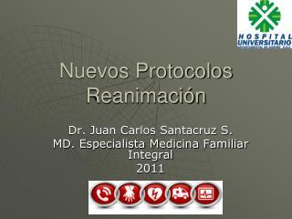 Nuevos Protocolos Reanimación