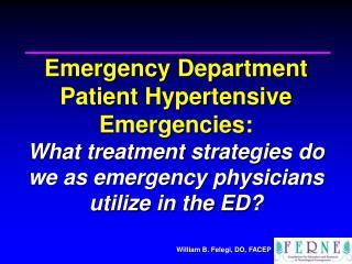 2007 EMA Advanced Emergency & Acute Care Medicine Conference Atlantic City, NJ September 24, 2007