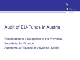 Audit of EU-Funds in Austria