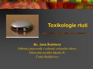 Toxikologie rtuti