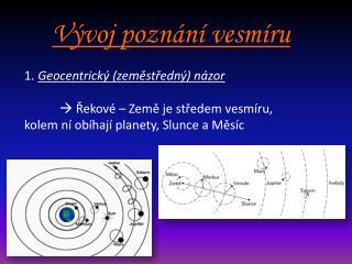 Vývoj poznání vesmíru