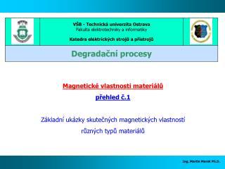 Ing. Martin Marek Ph.D.
