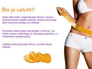 Šta je celulit?