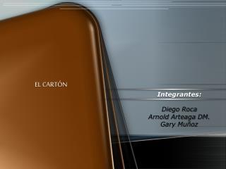 EL CARTÓN