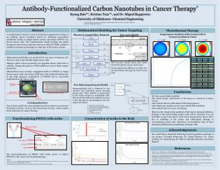 Antibody-Functionalized Carbon  Nanotubes  in Cancer Therapy *