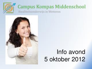 Campus Kompas Middenschool Kwaliteitsonderwijs in Wetteren
