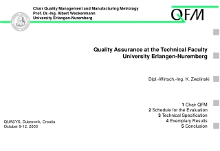 Measurement and Quality Course