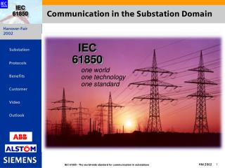 Communication in the Substation Domain