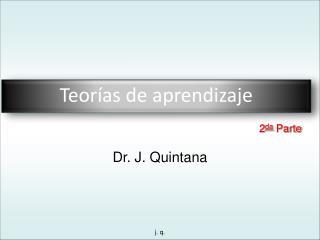 Dr. J. Quintana