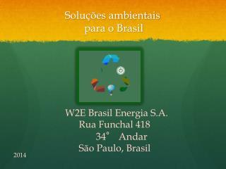 Solu��es ambientais  para o Brasil