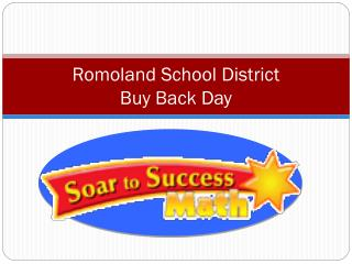Romoland School District Buy Back Day