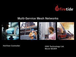 Multi-Service Mesh Networks