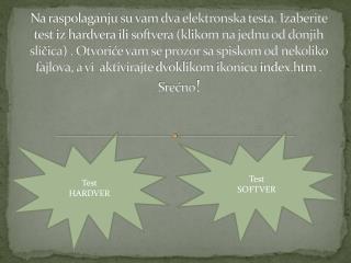 Test  SOFTVER