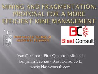 Mining and Fragmentation: proposal for a more efficient mine management