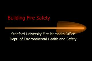 Building Fire Safety