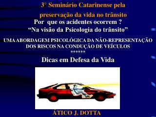 3° Seminário Catarinense pela preservação da vida no trânsito