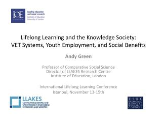 Lifelong Learning and the Knowledge Society: VET Systems, Youth Employment, and Social Benefits
