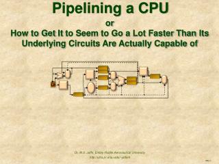 Pipelining a CPU