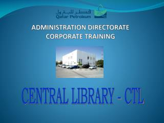 ADMINISTRATION DIRECTORATE CORPORATE  TRAINING