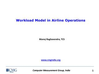 Workload Model in Airline Operations