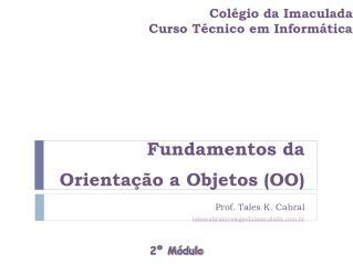 Colégio da Imaculada Curso Técnico em Informática