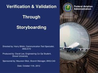 Verification  &  Validation  Through  Storyboarding