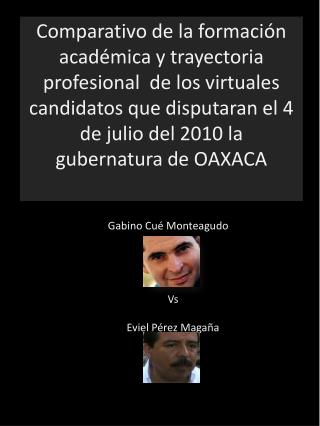 Vs Eviel Pérez Magaña