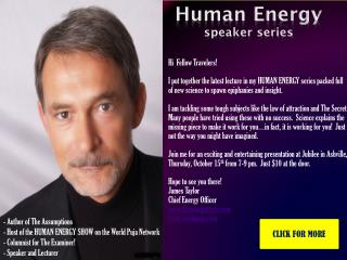Human Energy  speaker series