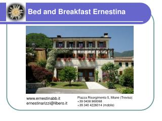 Bed and Breakfast Ernestina