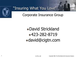 """Insuring What You Love"""