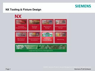 NX Tooling & Fixture Design