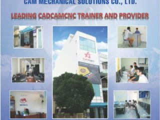 LEADING CADCAMCNC TRAINER AND PROVIDER
