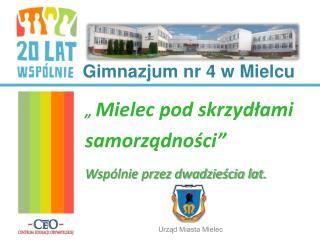 Gimnazjum nr 4 w Mielcu