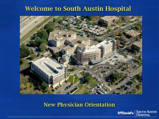 Welcome to South Austin Hospital
