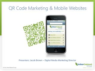 QR Code Marketing & Mobile Websites