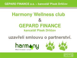 GEPARD FINANCE a.s. – kancelář Písek Drlíčov