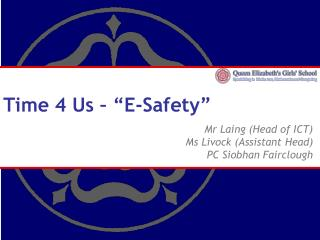 "Time 4 Us – ""E-Safety"""