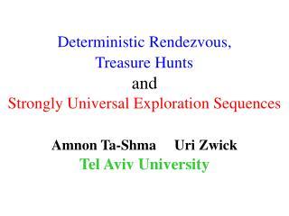 Amnon Ta-Shma     Uri Zwick