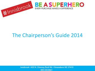 The Chairperson's Guide 2014